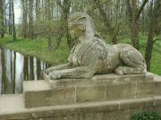 Sfinga na mostě Emissarius