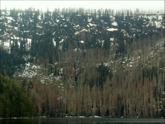 šumavské vodopády 23