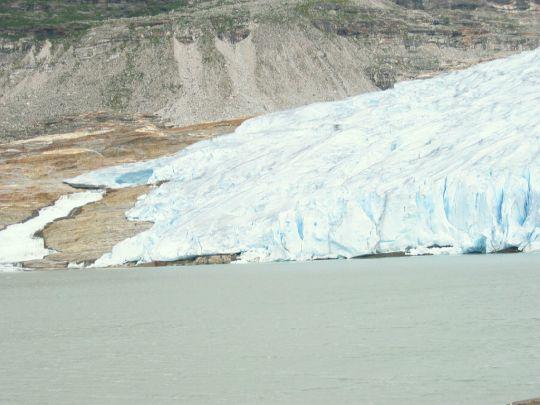 Norsko - ledovec Svartisen