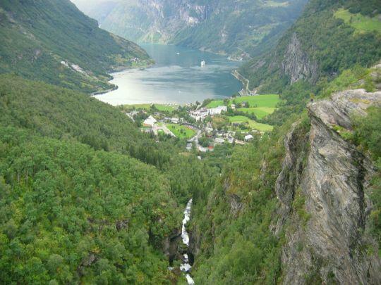 Norsko - Geirangerfjord