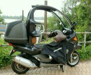 Zateplená motorka