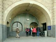 Vstup do Labského tunelu