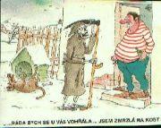 kreslený vtip č.9