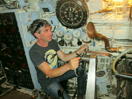 Řídit ponorku není žádná sranda