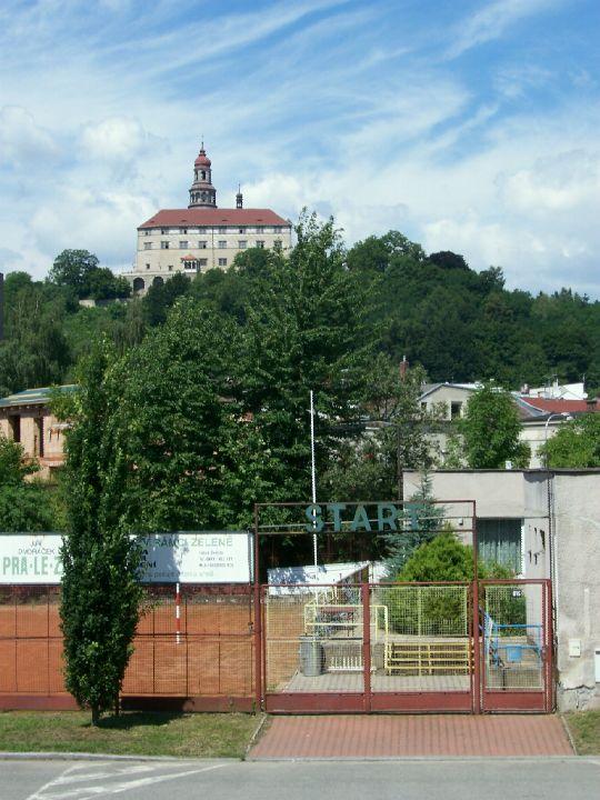Pohled na náchodský zámek