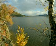Podzim na Máchově jezeře