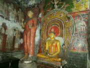 Skalní chrámy v Dambulle