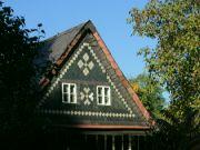 Ozdobný štít domu