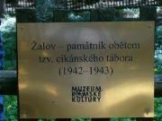 památník obětem tzv. cikánského tábora
