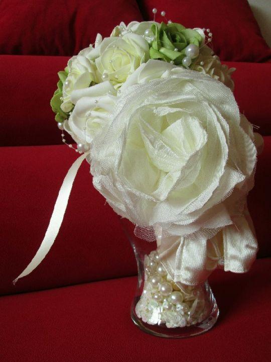 Svatební kytice 004