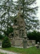 Pomník na zajateckém hřbitově