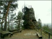 skalní rozhledna Hlavatice