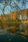 Podzim zlatý a modrý