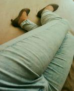 Kalhoty a lodičky