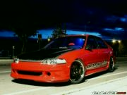 civic red