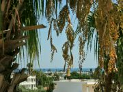 Výhled z balkonu k moži