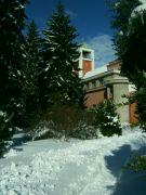 Zimní dominanta historické památky