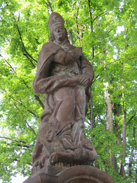 Socha sv. Prokopa