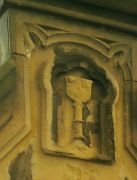 Starý náhrobek, detail