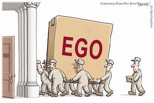 EGO vs. IQ
