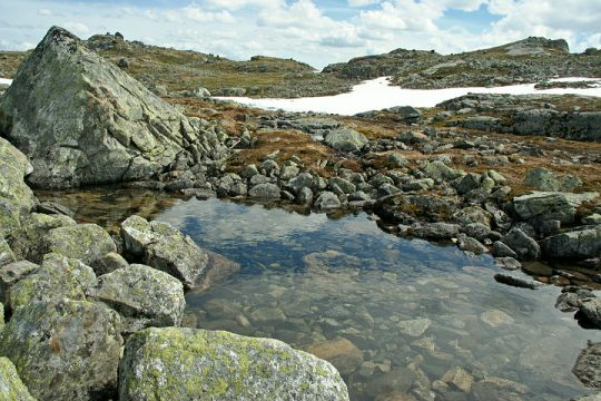 Cestou k ledovci Hardangerjokulen