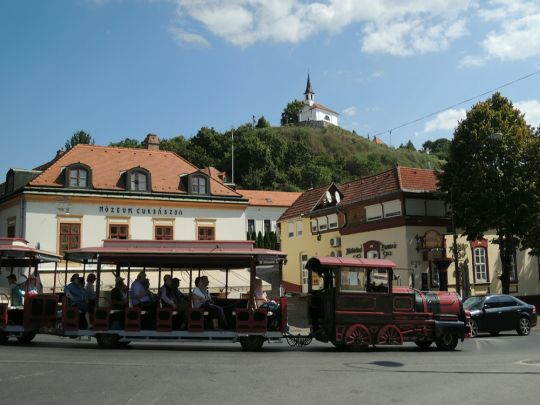 Turistický vláček ze Slovenska