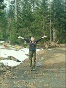šumavské vodopády 16