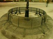 zimní noční posezení