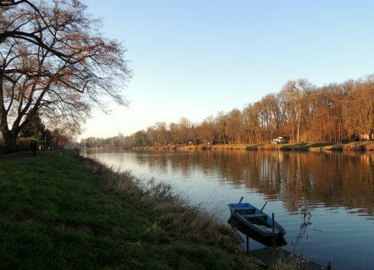 Krajina s loďkou