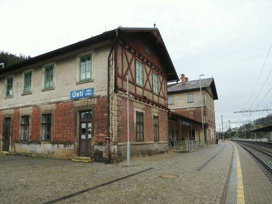 Historická budova nádraží