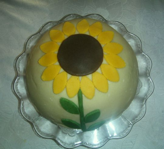 marcipánový slunečnice