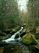 šumavské vodopády 7