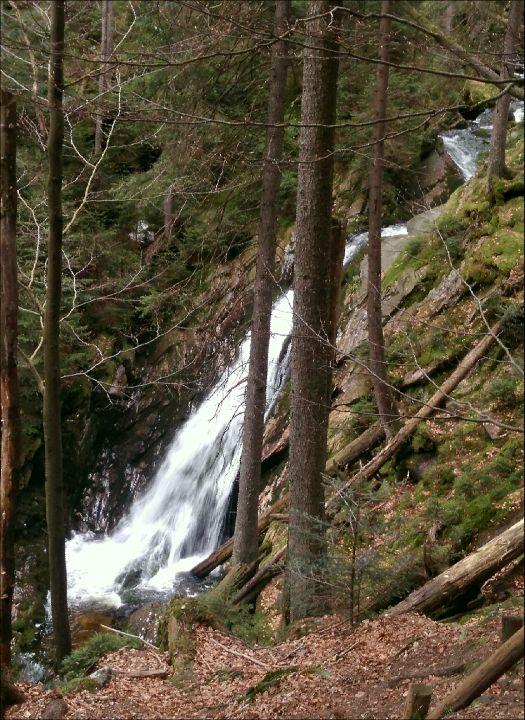 šumavské vodopády 38