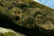Lebky nad jeskyní