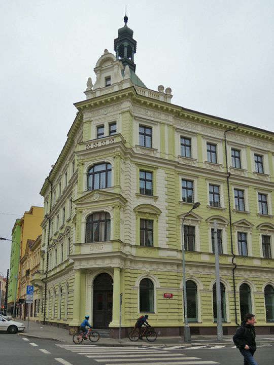 Stará pošta, Libeň