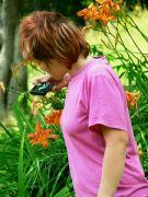 Adélka - mladý botanik -Lopeník 06