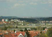 Výhled k hradu