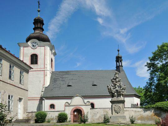 Kostel sv. Václava Ratboř