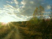 podzimně večerní procházka