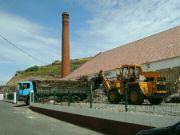 Továrnička na zpracování cukrové třtiny