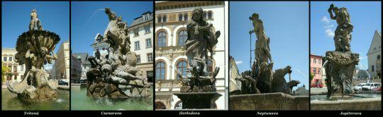 Barokní kašny