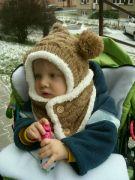 V čepici do mrazu od Ježíška