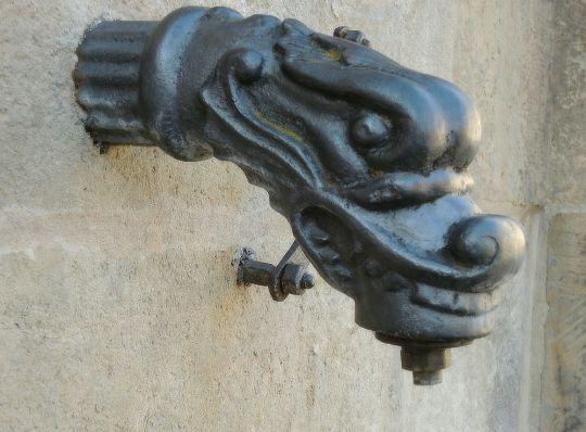 Detail kašny