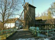 Bučický mlýn od rybníka
