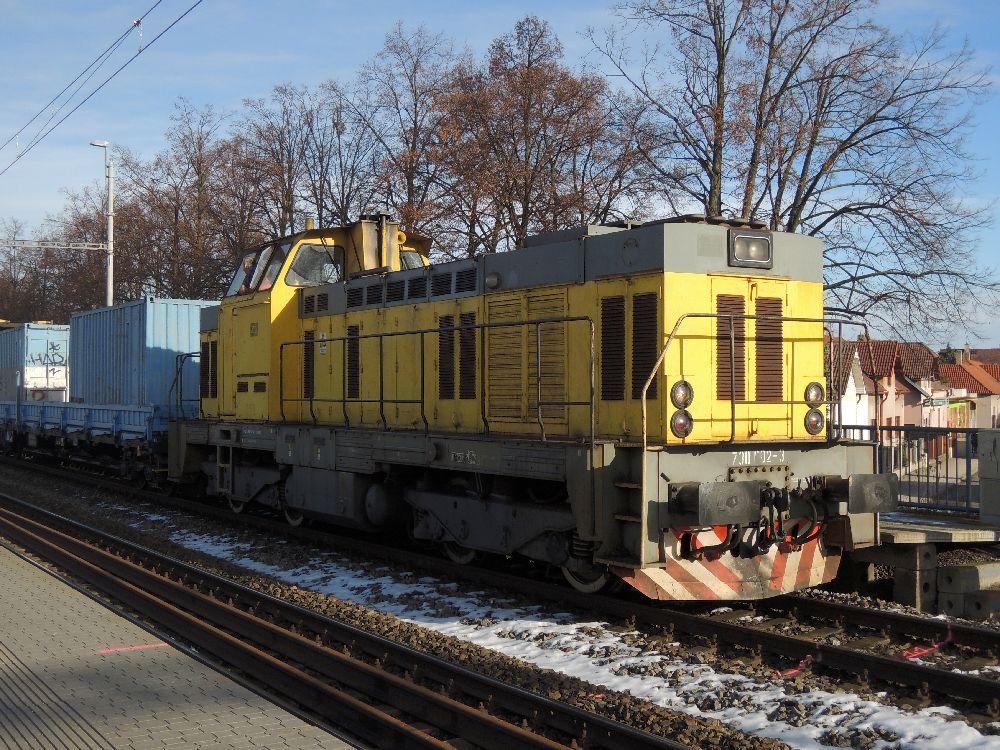 Lokomotiva 7300002 Žluťas