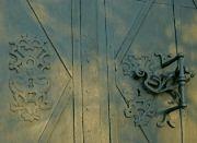 Kostelní vrata, detail