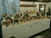 Betlém s figurkami