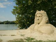 Socha z písku