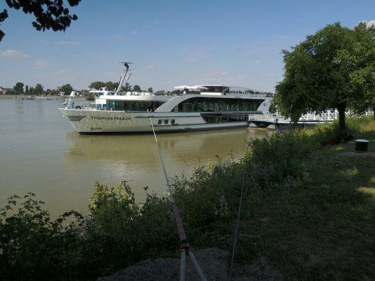 Hotelová loď na Dunaji