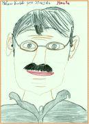 perokresba tváře